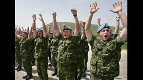 Golan Heights: Canada Lowers Flag