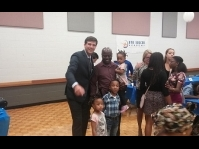 Edmonton: Mayor Iveson celebrates soccer with Sierra Leonean kids