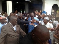 Freetown Chief Imam Hosts President Koroma, Others