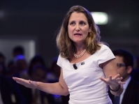Chrystia Freeland is Canada's first female Finance Minister