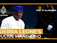 President Bio talks to Al Jazeera