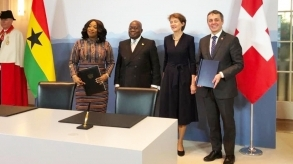 Switzerland and Ghana sign MoU to take action on climate commitments