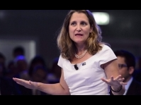 The rise and rise of Canada's Chrystia Freeland