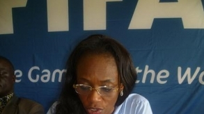 Freetown: Isa Johansen Returns with goodies from FIFA