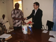 Japan approves grant to assist farmers in rural Sierra Leone