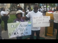 Edmonton: Mano River Union Rally Against Ebola